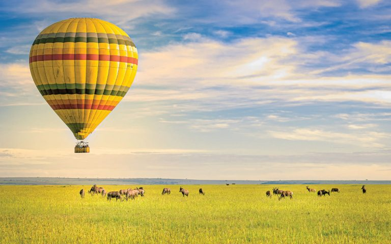 Hot Air Baloon Safaris Tarangire