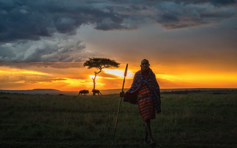 Nature walks conducted by local Maasai/ Samburu warriors