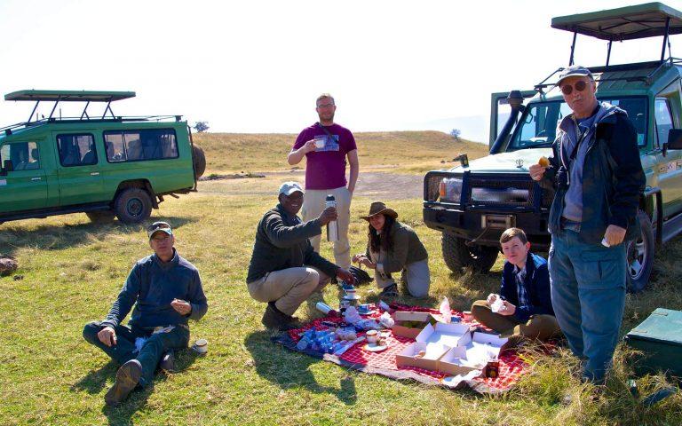 Picnicking Ngorongoro Tanzania