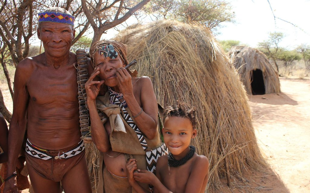Kgalagadi Transfrontier Park, The Khoisan of The Kalahari