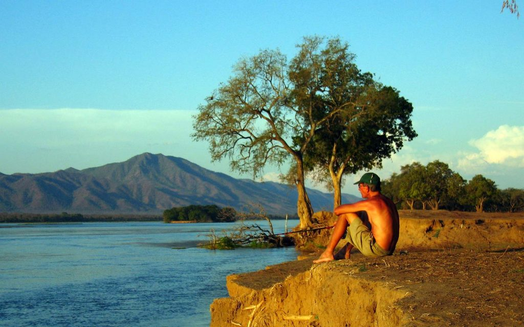 fishing in Mana Pools National Park